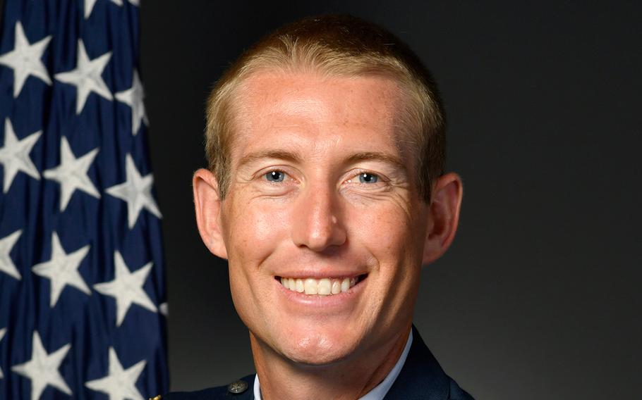 Maj. Michael Gentry, 354th Contracting Squadron commander, died in Alaska Aug. 1, 2020, after the bicycle he was riding was struck by a truck.