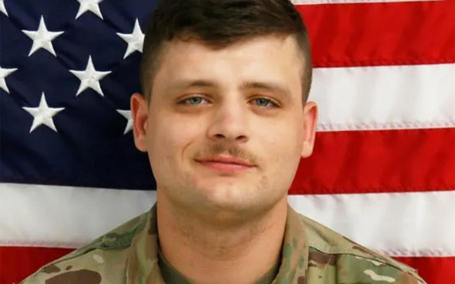 Pfc. Brandon Rosecrans' body was reported discovered in a ditch near Fort Hood at 10:16 a.m. on May 18, 2020.