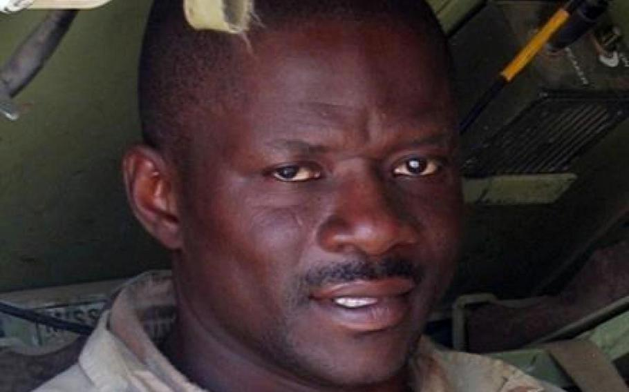 Sgt. 1st Class Alwyn Cashe died after pulling fellow soldiers from a burning vehicle in Iraq in 2005.