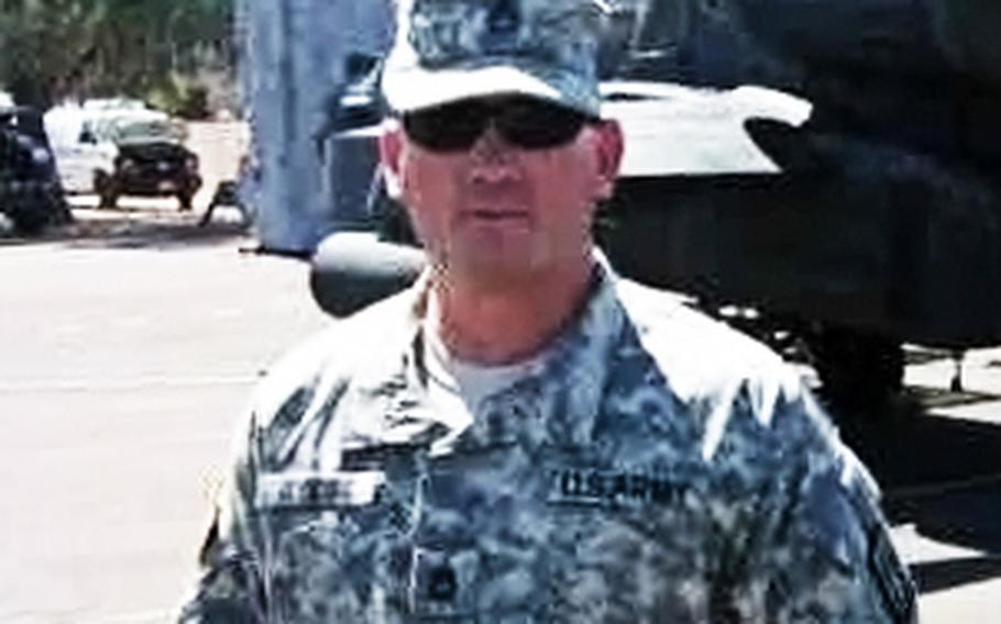 Sgt. 1st Class Clifford R. Gooding