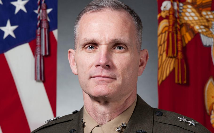Gen. Gary Thomas, the Marine Corps' assistant commandant, has tested positive for the coronavirus, according to a series of tweets from the service on Wednesday.