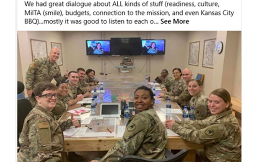 Last month, a Facebook post from Chief Master Sgt. of the Air Force JoAnne Bass stirred up conversation when a staff sergeant left a cheeky comment about the pronunciation of her surname.