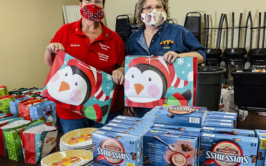 Operation Homefront has begun its annual program to provide holiday meals to military families by hosting drive-through distributions at 70 locations across the country. Registration is required, and the giveaways continue through Dec. 19.