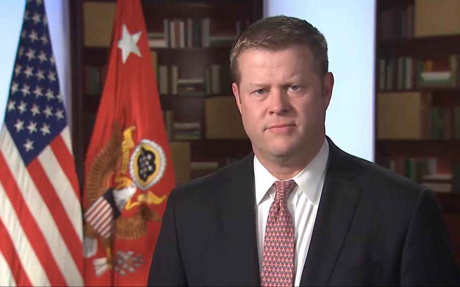 Army Secretary Ryan McCarthy released a video message Wednesday to address recent media reports about the Army's program to prevent and respond to sexual assault and harassment. He also announced the findings of an outside investigation related to the disappearance and death of Spc. Vanessa Guillen will be released Dec. 8.