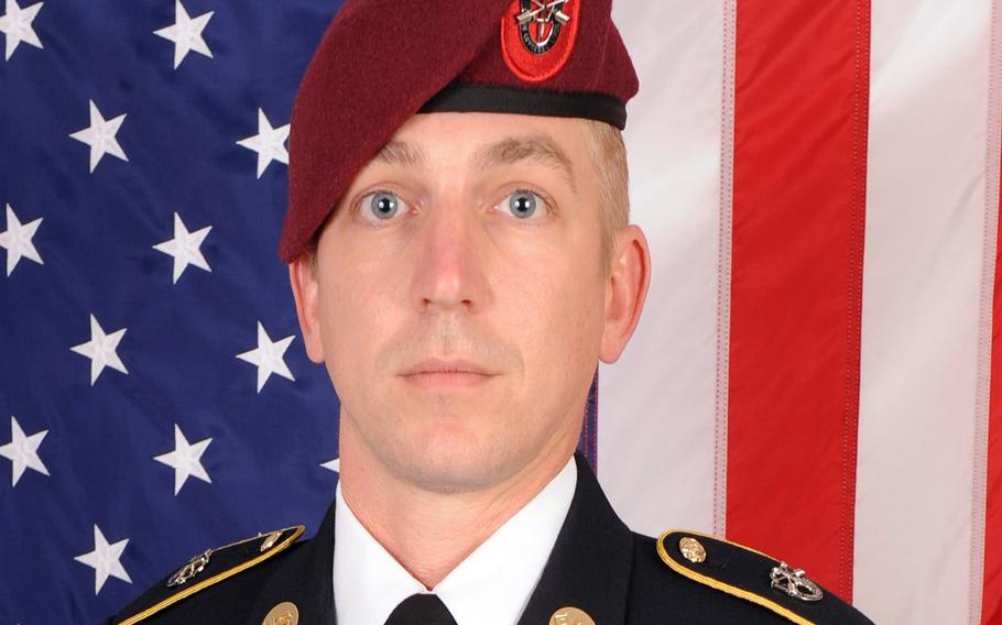 Sgt. 1st Class Levi Presley, a special operations soldier, died Dec. 12, 2020, in Florida, the 7th Special Forces Group (Airborne) said.