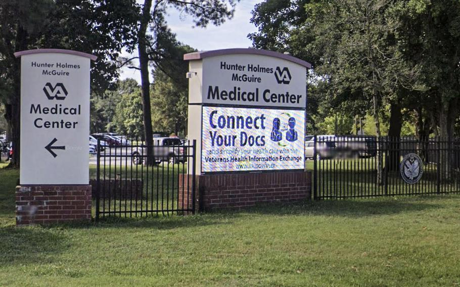 Officials for the Department of Veterans Affairs said the agency is not considering a name change for the Hunter Holmes McGuire VA Medical Center in Richmond, Va., which honors the personal doctor to Stonewall Jackson, one of the most famous Confederate generals of the Civil War.