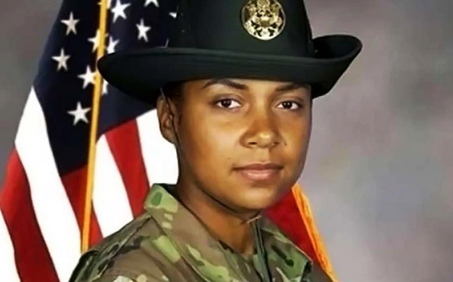 Drill Sgt. Jessica Mitchell