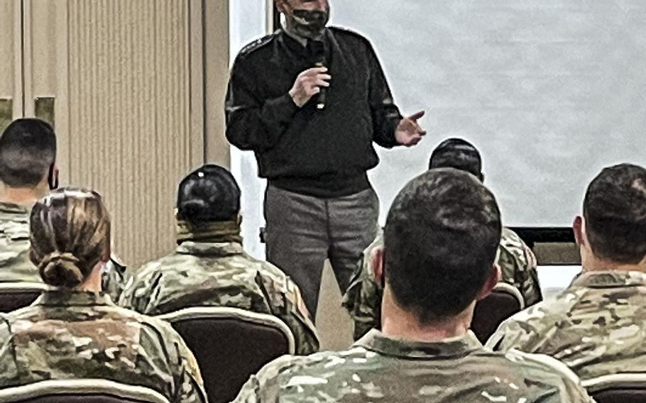 Army Chief of Staff Gen. James McConville spent two days this week at Fort Hood, Texas, to hear from soldiers about the progress being made to improve the command climate and culture on the base.