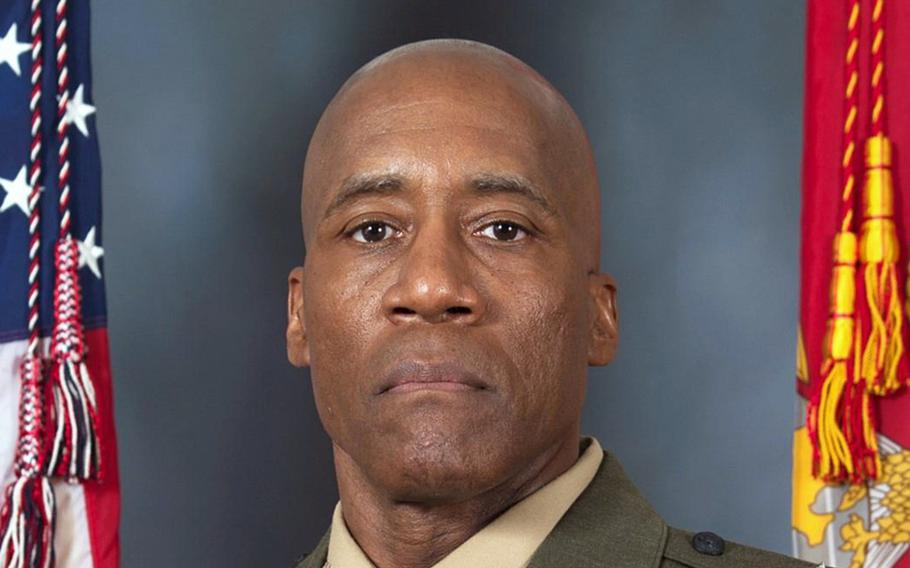 Marine Corps Maj. Gen. Michael E. Langley, commander of U.S. Marine Forces Europe and Africa.