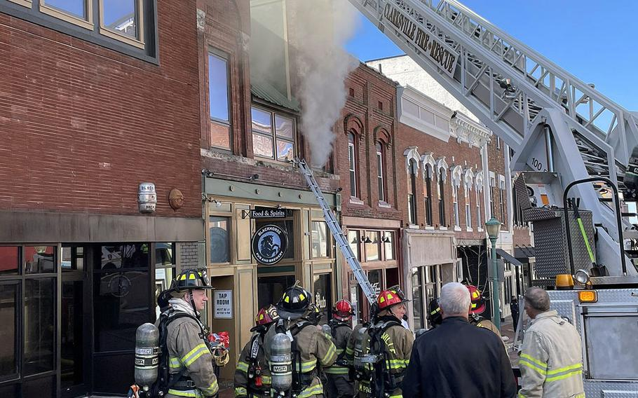 A March 3, 2021, fire has forced the closure of the popular, veteran-owned Blackhorse Pub in Clarksville, Tenn., which was founded shortly after the Gulf War.