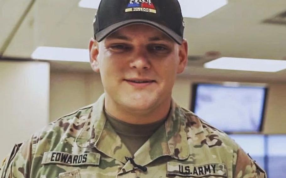 Sgt. 1st Class Allan Edwards, a Fort Bliss soldier, was shot and killed by his 13-year-old stepson on Monday, March 15, 2021.