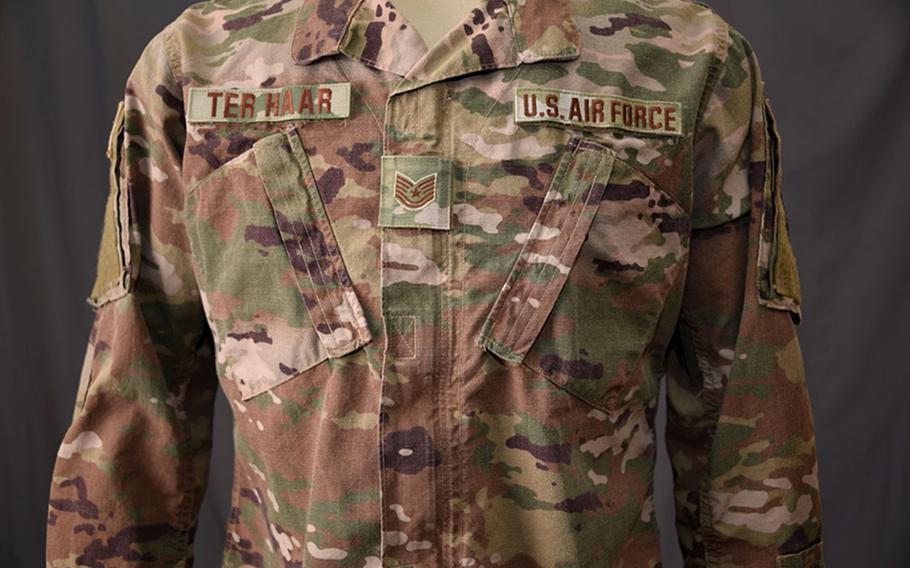 On April 1, 2021, the Operational Camouflage Pattern uniform will be the standard issue uniform of the U.S. Air Force.