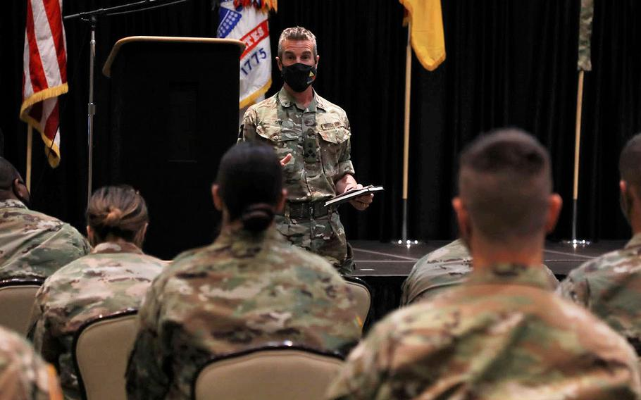 British army Brig. Andy Cox, deputy commander for maneuver with the 1st Armored Division at Fort Bliss, Texas, has taken the reins of Operation Ironclad, an initiative at Fort Bliss to root out sexual harassment and assault, suicide and extremism from the ranks.