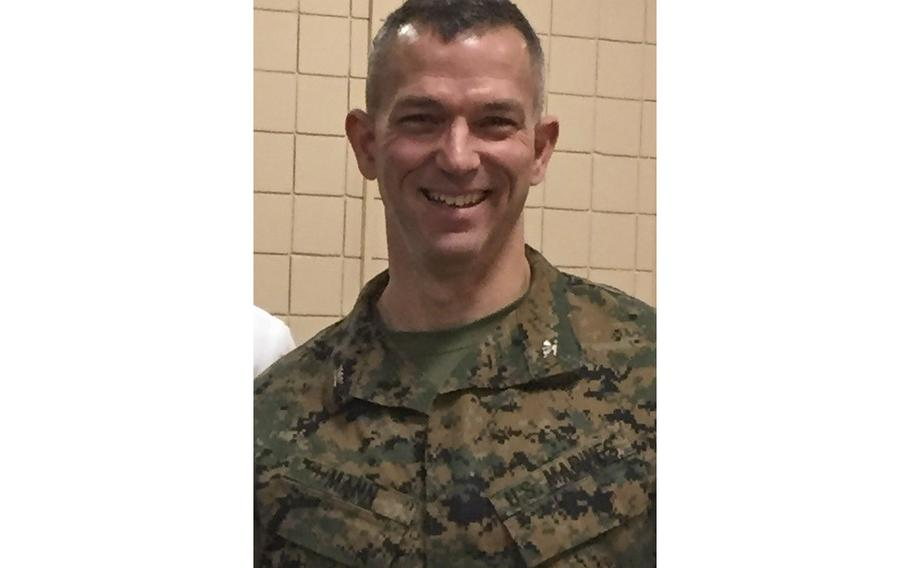 """Marine Corps Col. Morgan Mann, the former commander of the 25th Marine Regiment, was removed from his position Oct. 4, 2017. Mann says """"there was no explanation."""" Though his record is now clean, Mann is still fighting to clear up the damage that the public firing did to his reputation."""