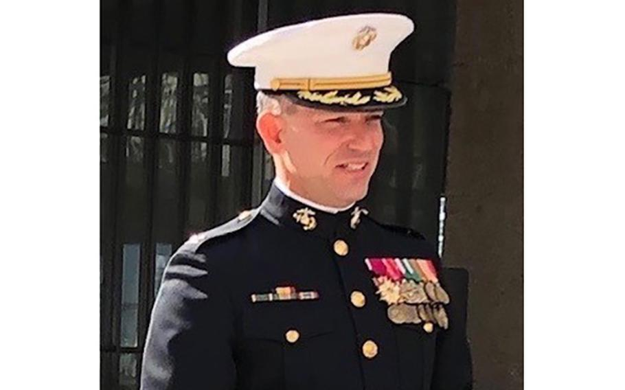 """Marine Corps Col. Morgan Mann, the former commander of the 25th Marine Regiment, was removed from his position Oct. 4, 2017. Mann says """"there was no explanation."""" After more than three years of fighting the decision, Mann won his appeal in March 2021."""
