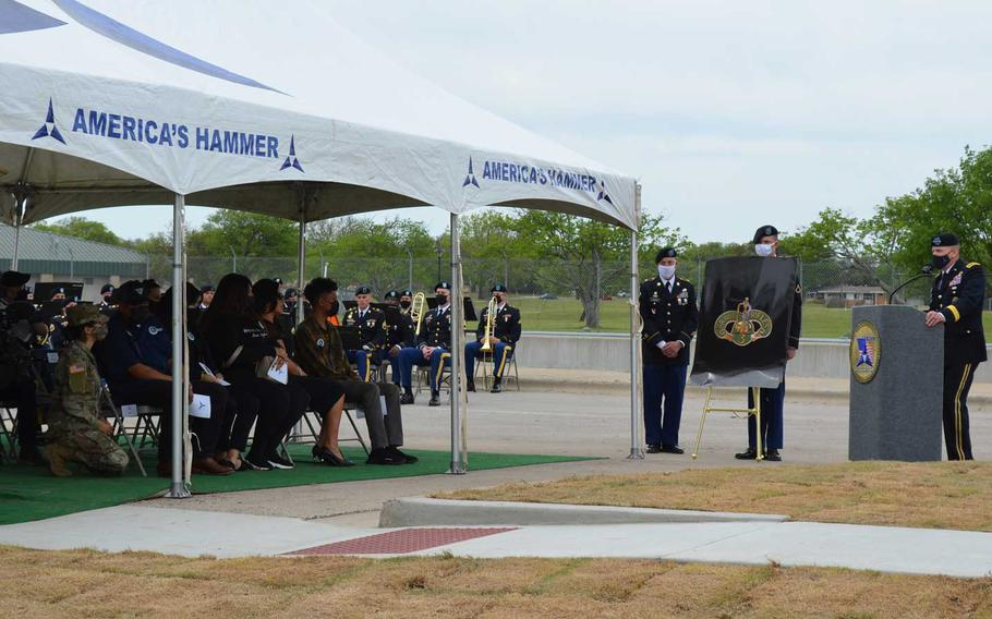 Lt. Gen. Pat White, commander of III Corps and Fort Hood, said Monday that the renaming of a gate at the Texas Army base to honor Spc. Vanessa Guillen will remind soldiers that they should know every one of their teammates. Guillen was killed one year ago at the base by a fellow soldier.