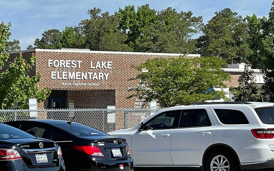 An Army trainee from Fort Jackson hijacked a school bus full of students headed to Forest Lake Elementary School, the Richland County Sheriff's Department said.