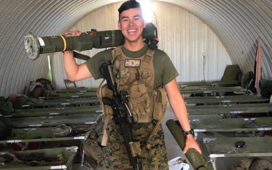 Lance Cpl. Guillermo S. Perez was from New Braunfels, Texas.