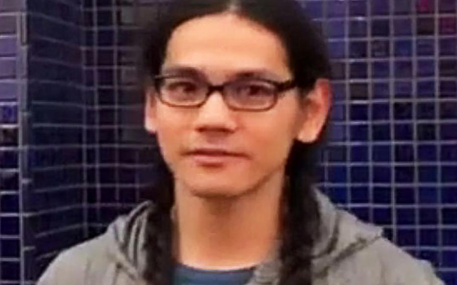 Mark Steven Domingo in an undated handout photo provided by the FBI.