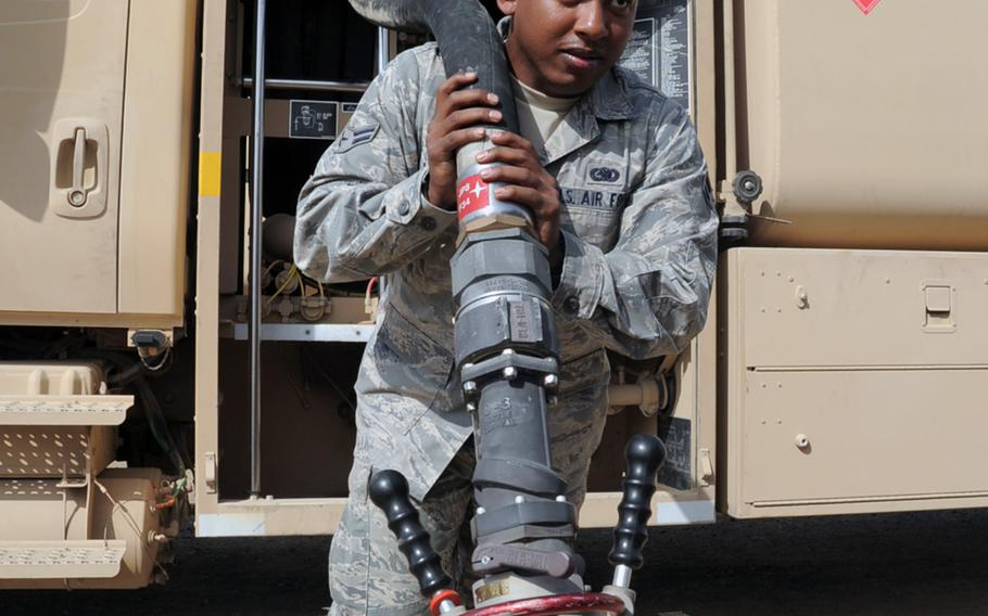 The weight of fueling the United States military is literally borne by a host of servicemembers. The documentary film ''The Burden'' looks at the costs of carrying the weight of fossil fuels and how that burden affects national security.