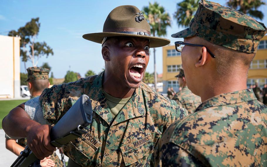 """The Marine Corps celebrated April Fools' Day with a post on Facebook claiming that """"the term Drill Instructor will be replaced with Drill Sergeant beginning next quarter."""""""