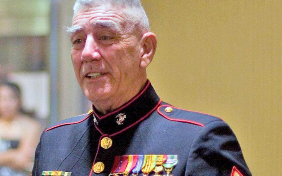 """R. Lee Ermey, the Vietnam veteran famous for playing a hard-bitten Marine Corps drill instructor in the Academy Award-nominated film """"Full Metal Jacket,"""" died April 15, 2018, at age 74."""