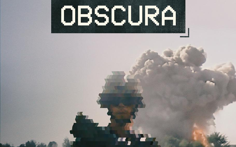 The poster for ''Combat Obscura,'' a film that uses footage shot in Afghanistan by a Marine and shows some controversial scenes.