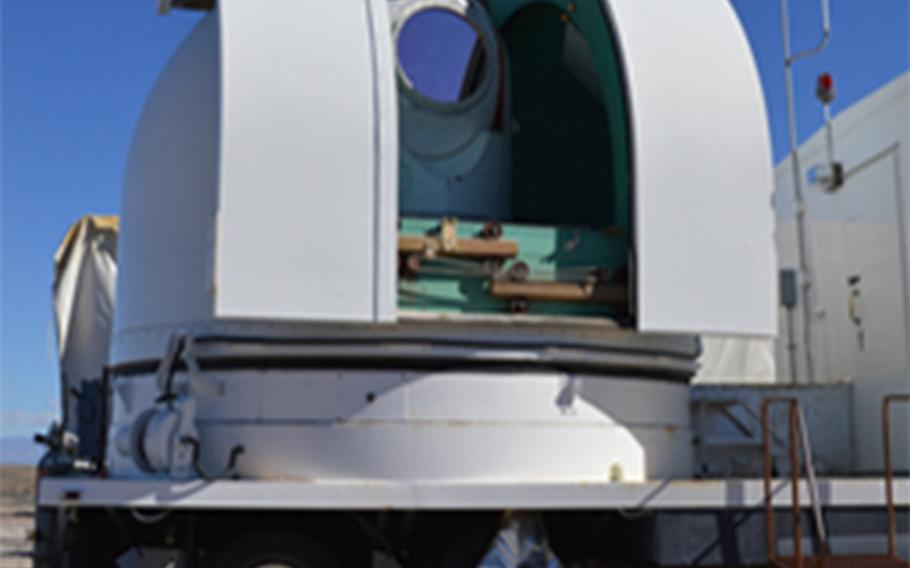 During a series of tests at White Sands Missile Range, N.M., April 23, 2019, the Demonstrator Laser Weapon System, acting as a ground-based test surrogate for the Self-Protect High Energy Laser Demonstrator system, was able to engage and shoot down several air-launched missiles in flight. The Air Force is hoping to install lasers on planes by 2021.