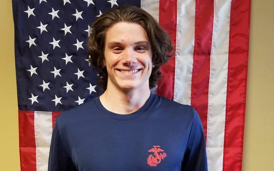 Law enforcement officials are calling Brendan Bialy, a student at STEM School Highlands Ranch and a Marine Corps poolee, a hero after he helped tackle and disarm a gunman during a school shooting in Colorado. Bialy has enlisted in the Marine Corps and plans to go to boot camp after graduation.