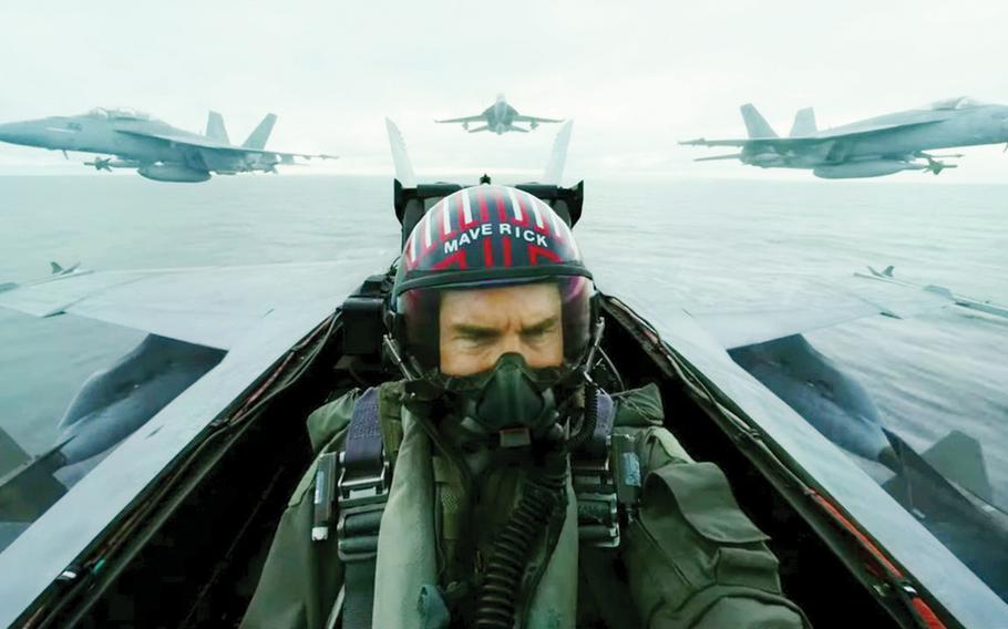 Tom Cruise in Top Gun: Maverick (2020) | Facebook