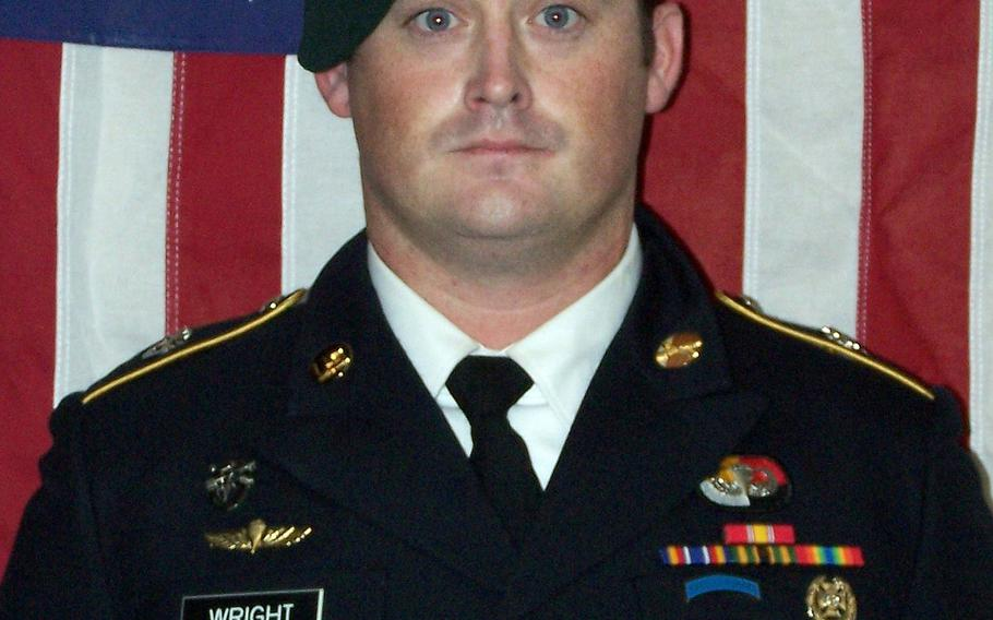 U.S. Army Sgt. Dustin Wright, who was among four special forces soldiers killed in Niger, will posthumously receive the Silver Star medal Wednesday, on Aug., 14, 2019.