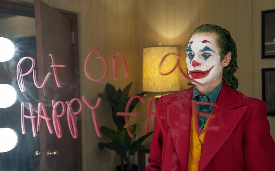 Joaquin Phoenix stars as Arthur Fleck in  ''Joker,'' a Warner Bros. Picture release.