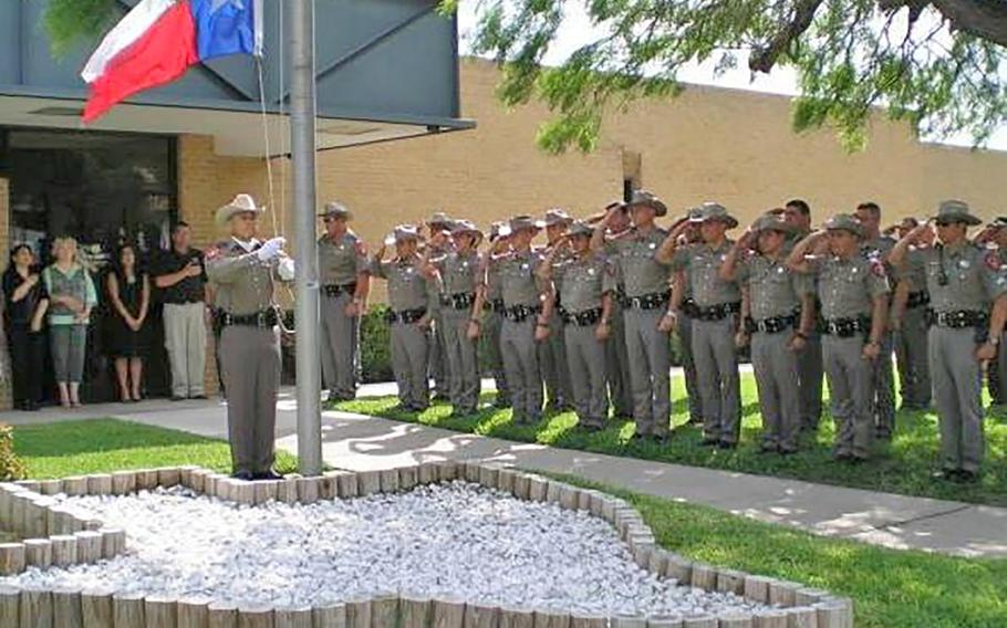 During his final uniformed duty as a Texas state trooper, retired Army Reserve Capt. Le Roy Torres lowered the flag at a funeral service for a fellow trooper. Torres sued the state's Department of Public Safety in 2017, because he believes he was fired due to injuries he sustained during a deployment to Iraq.