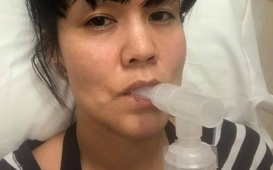 Melissa Godoy said she was diagnosed with her first lung infection in November 2018, just months after moving into an on-base house at Joint Base Lewis-McChord, Wash., that she said had mold in it.