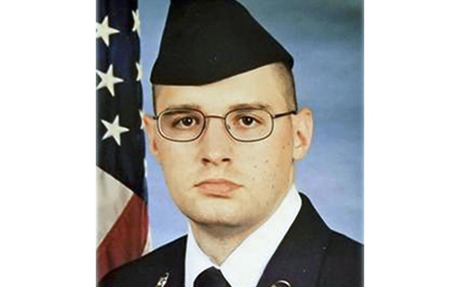 Staff Sgt. George Girtler IV, seen here in his boot camp graduation photo, died Jan. 11, 2020 while deployed to Antarctica for Operation Deep Freeze, the Air Force announced.