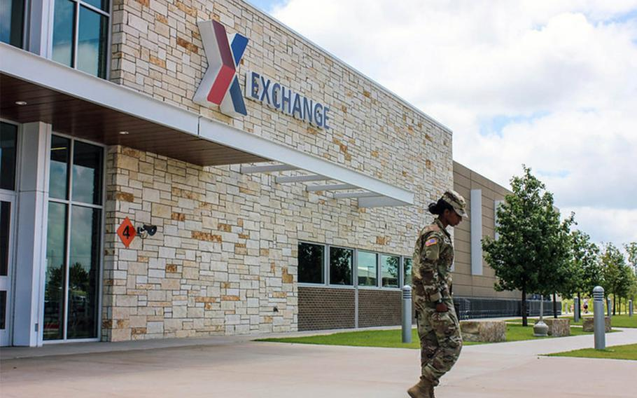 Army and Air Force Exchange Service shoppers pushed April online sales to more than double the April 2019 figures.