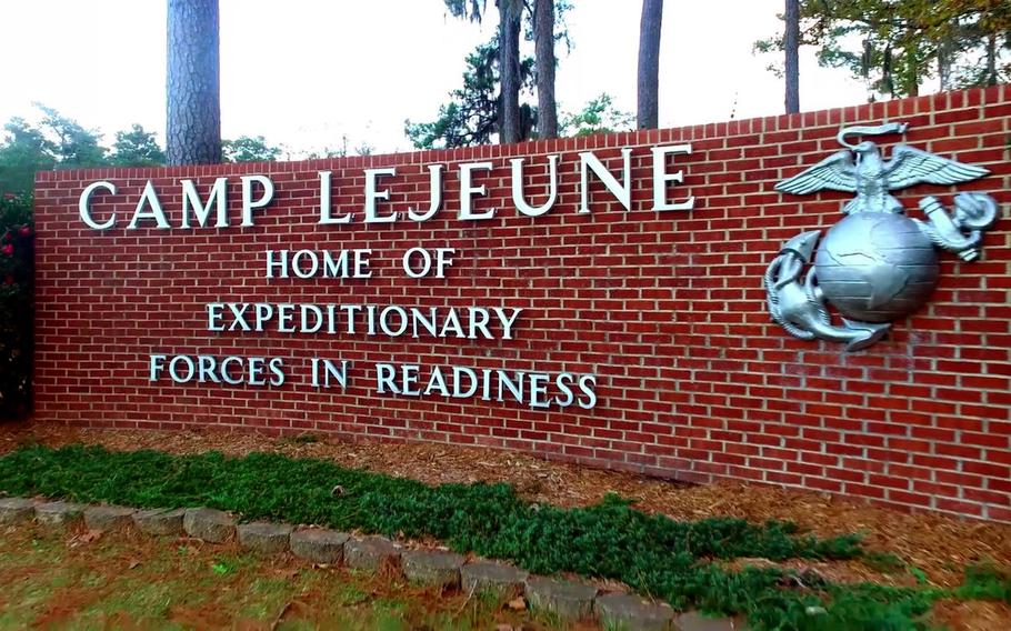 A Marine who went on the lam from Camp Lejeune on Sept. 24, 2020 is one of four service members who have been charged in connection with an armed robbery in a church parking lot in Surf City, N.C.