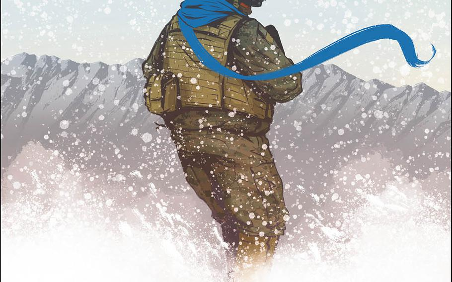 """""""Battle Born: Lapis Lazuli"""" is the new graphic novel by former Marine and """"Terminal Lance"""" scribe Maximilian Uriarte."""