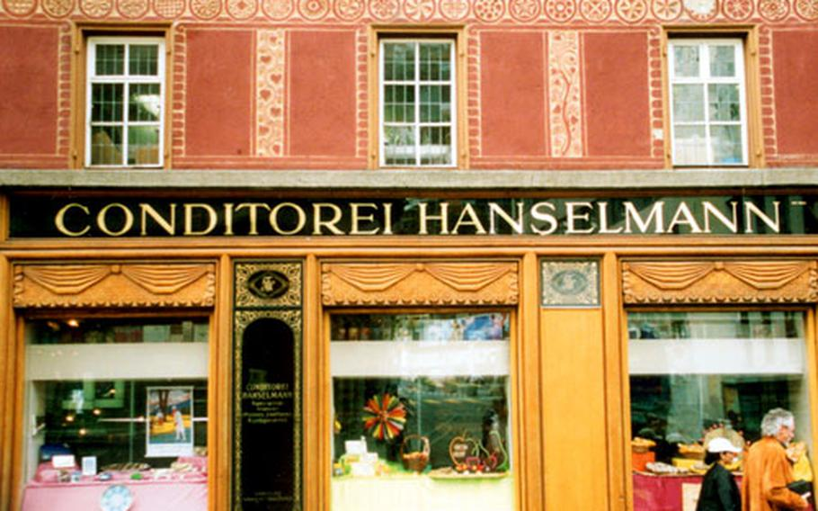 Many visitors come to St. Moritz hoping to bump into celebrities. One place they might look for the famous is at Hanselmann's Conditorei.