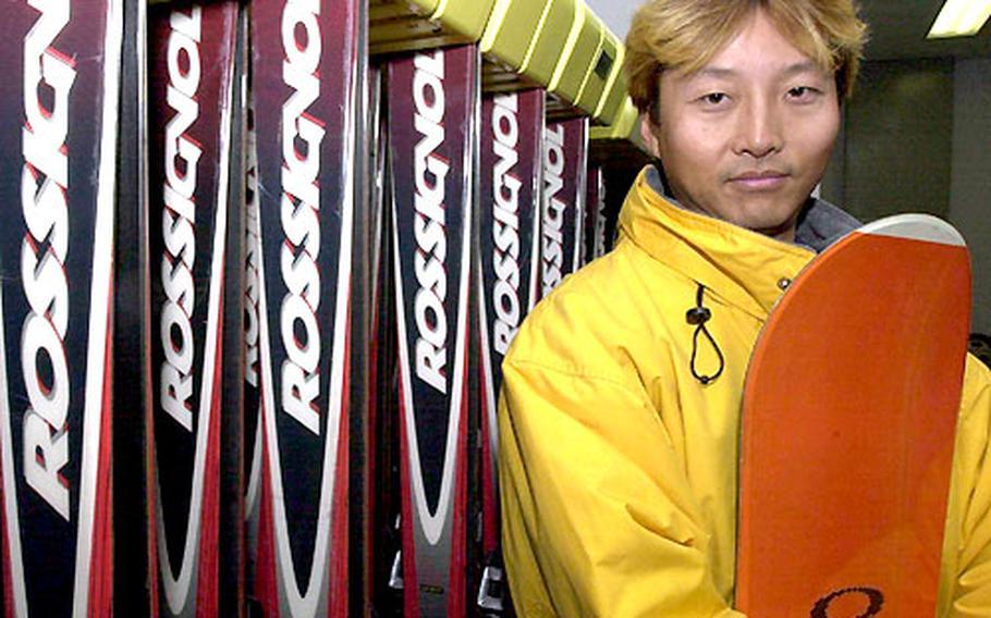 Satoshi Oka, a recreation specialist at Yokota Air Base's Outdoor Recreation.