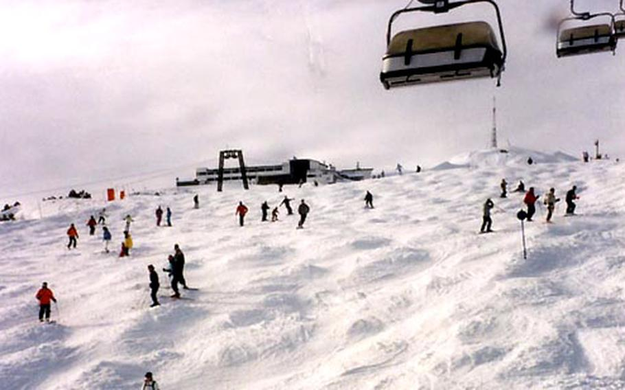 St. Anton am Arlberg, Austria, has plenty of intermediate cruising terrain, but it's also well-known for its challenging off-piste powder runs. St. Anton's ski facilities are among the largest in Austria.
