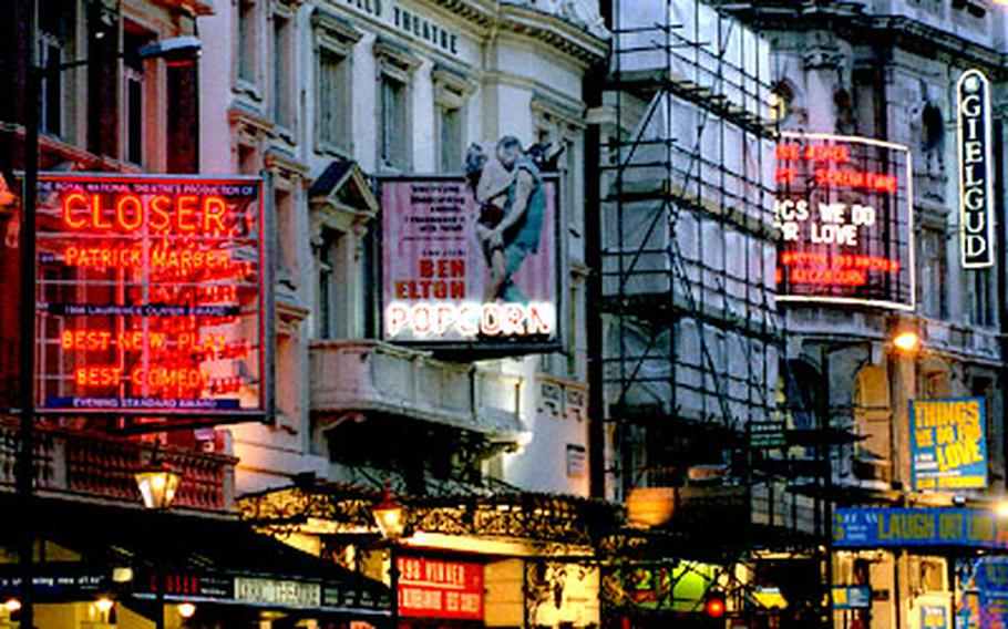 The bright lights of London's West End theaters beckon — especially when there are deals to be had.