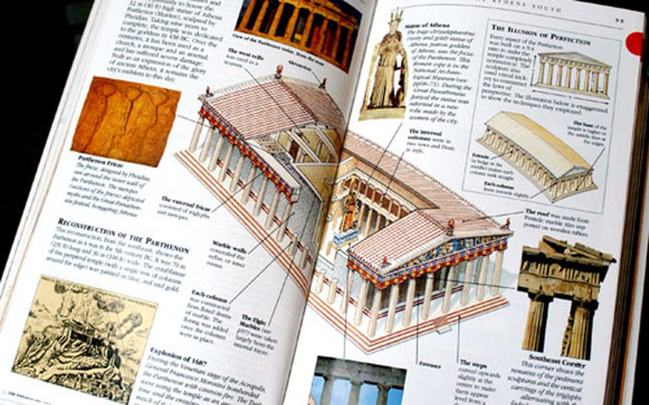 """The very visual """"Eyewitness"""" guides, featuring a lot of photos, maps, cutaways and diagrams, are among the best-selling series of travel guide books."""
