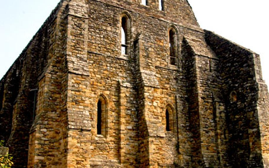 The remains of an abbey built by King William to mark his victory over King Harold in 1066 are a silent reminder of the importance of events at this site in southern England.