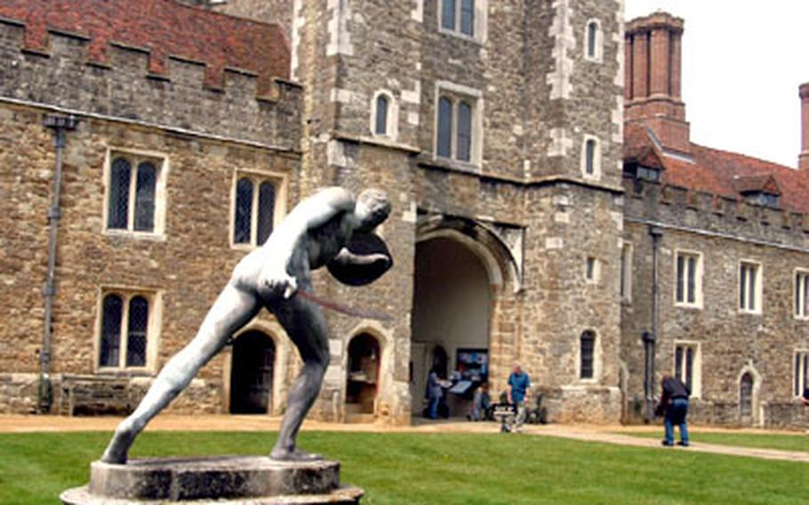 Dating from the 15th century, the magnificent Knole manor house is the former stomping grounds of kings and queens. The owners still live there but allow the public to see 13 of its hundreds of rooms.