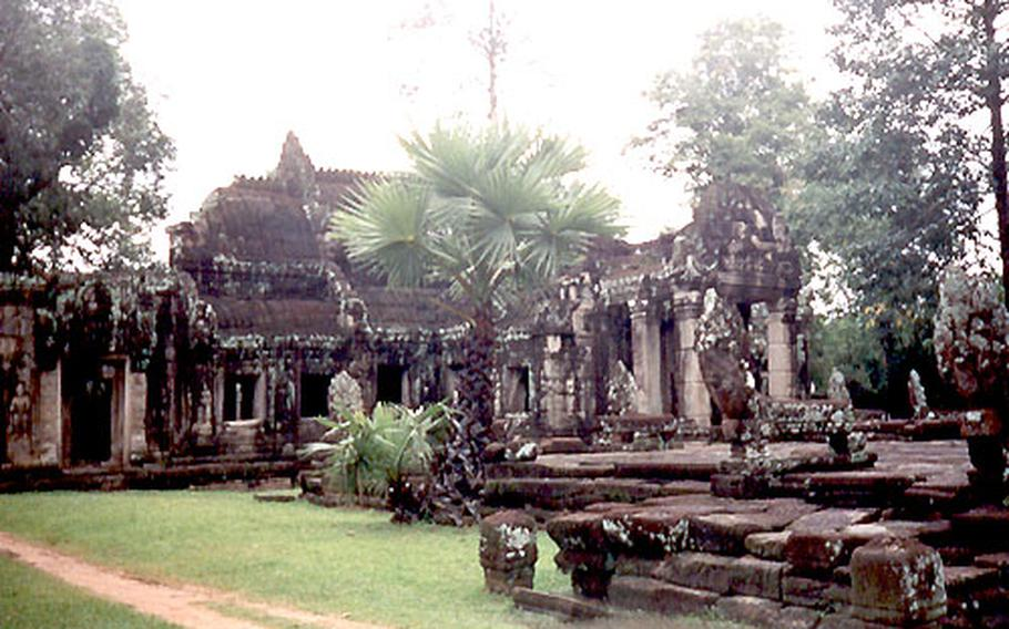 Banteay Kdei, a Buddhist temple from the 12th century.