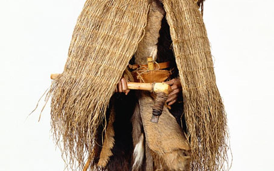 A reconstruction of Oetzi the Iceman is in the South Tirol Museum of Archaeology in Bolzano, Italy.