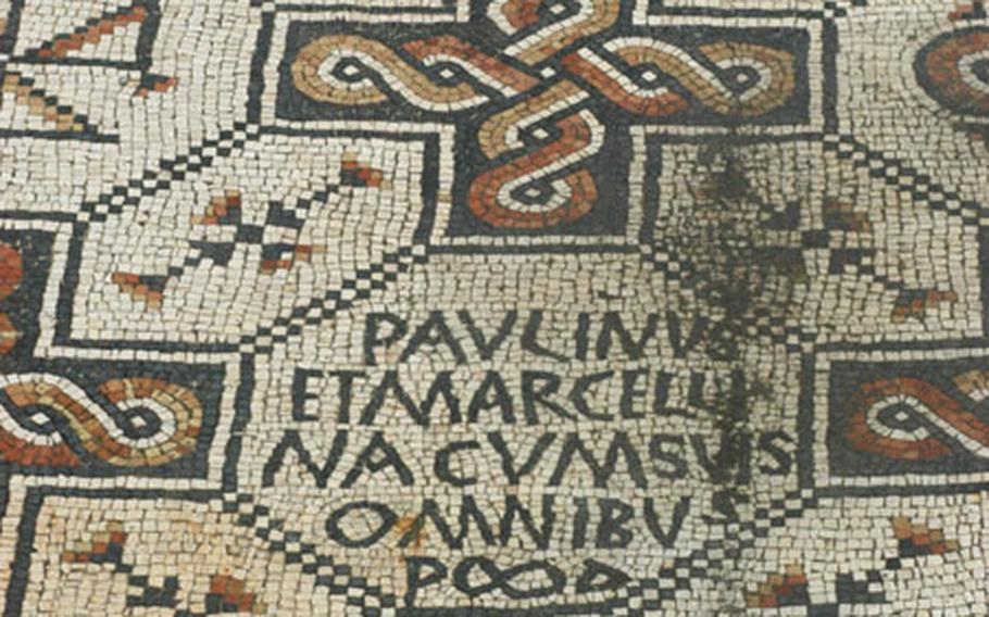 Though they pale in comparison to those in nearby Aquileia, mosaics in Grado are still eye-catching.