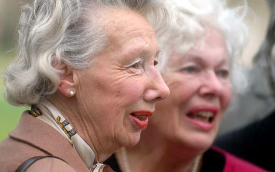 Monica Littleboy, 82, left, and Jean Irvine, 79, were both involved in the events of June 6, 1944, known forever as D-Day. Their stories are part of the exhibit at the Imperial War Museum.
