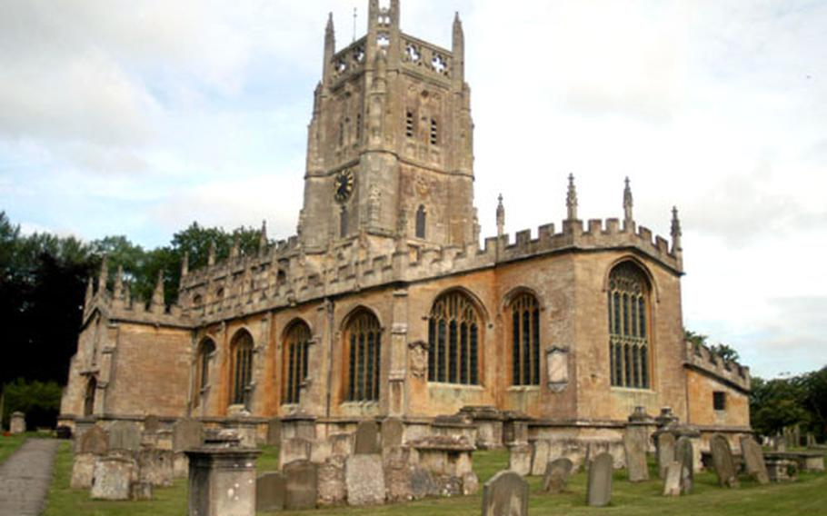 Most of St. Mary's is 500 years old, but some parts go back to the 13th century.